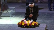 Prezydent Niemiec Steinmeier złożył wieniec pod pomnikiem w Jad Waszem