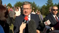 Prezydent o wybuchach na Ukrainie