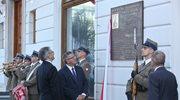 Prezydent odsłonił tablicę pamięci gen. Szeptyckiego