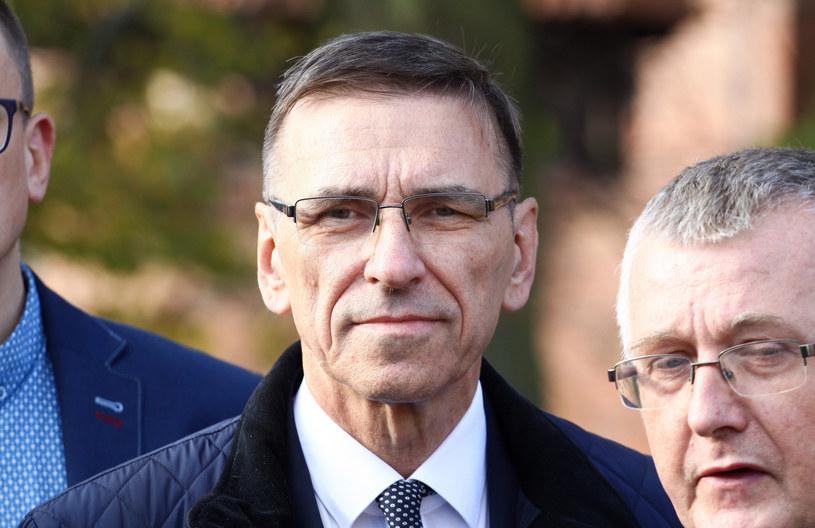 Prezydent Olsztyna Piotr Grzymowicz /Artur Szczepański /Reporter
