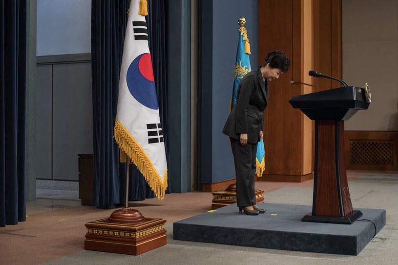 Prezydent Park Geun Hie /AFP