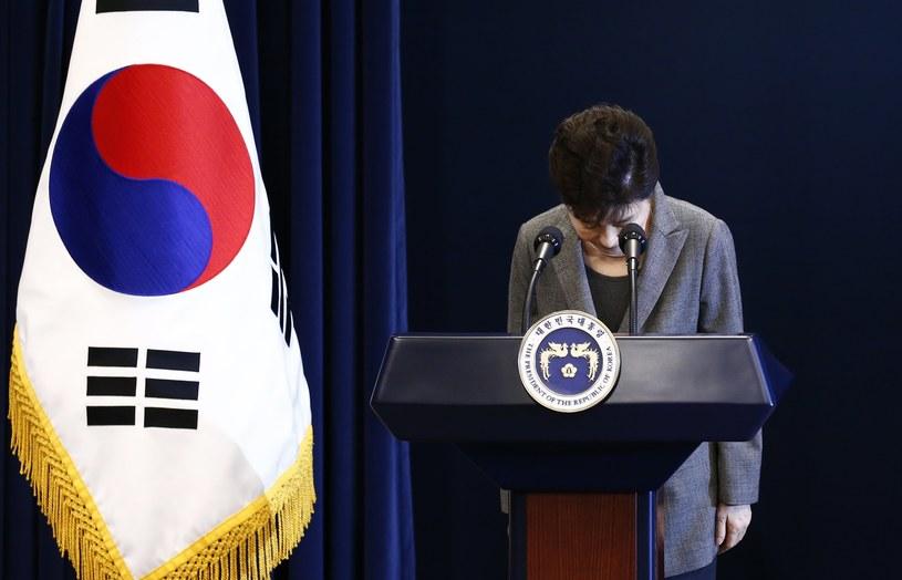 Prezydent Park Geun Hie /JEON HEON-KYUN /PAP/EPA
