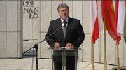 Prezydent podczas obchodów 67. rocznicy wybuchu Powstania Warszawskiego