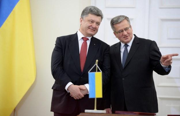 Prezydent podpisał ustawę o ratyfikacji umowy UE-Ukraina