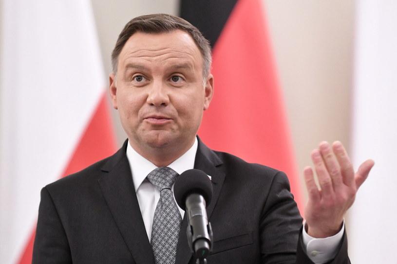 Prezydent Polski Andrzej Duda / Marcin Obara  /PAP