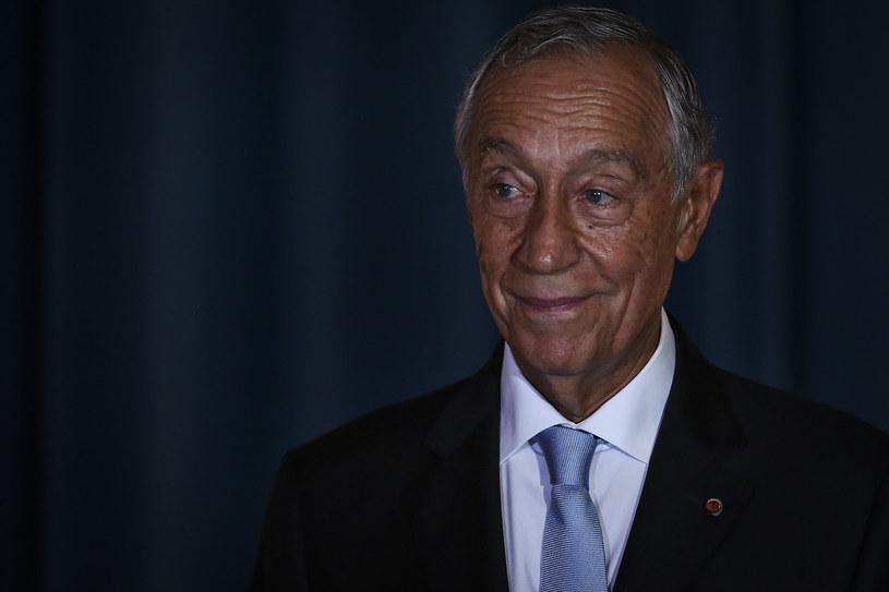Prezydent Portugalii Marcelo Rebelo de Sousa /CARLOS COSTA/AFP /AFP