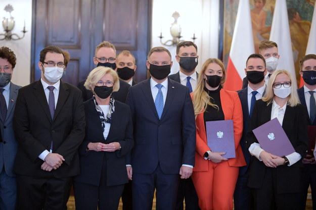 Prezydent powołał Radę ds. Młodzieży / Marcin Obara  /PAP