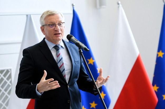 Prezydent Poznania Jacek Jaśkowiak /Jakub Kaczmarczyk /PAP