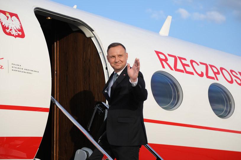 Prezydent przed wylotem do Stanów Zjednoczonych /Jan Graczyński /East News