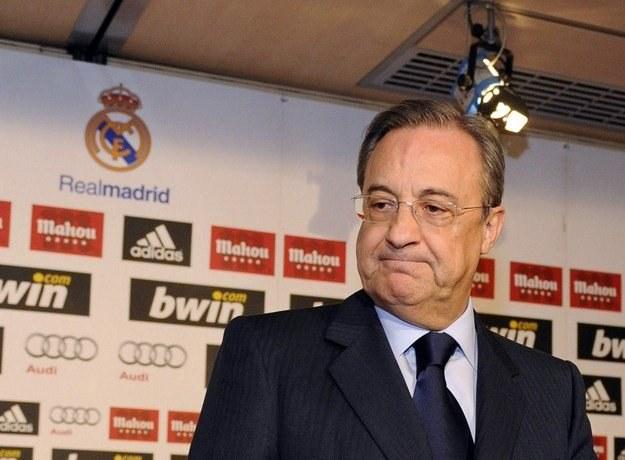 Prezydent Realu Madryt, Florentino Perez. Spróbuje ściągnąć Thomasa Mullera? /AFP