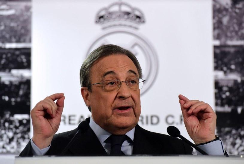 Prezydent Realu Madryt Florentino Perez /AFP