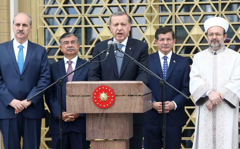 Prezydent Recep Tayyip Erdogan /AFP