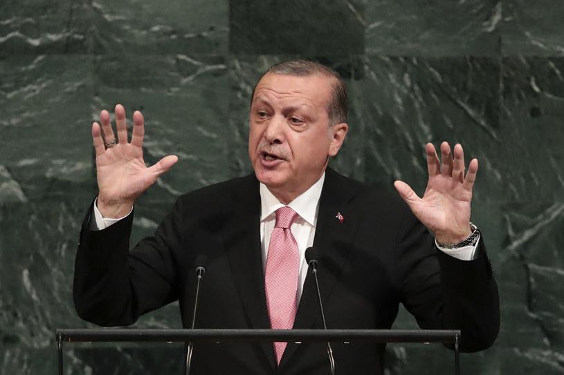 Prezydent Recep Tayyip Erdogan /Drew Angerer / GETTY IMAGES NORTH AMERICA /AFP