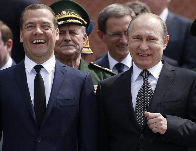 Prezydent Rosji i premier /SERGEI CHIRIKOV /PAP/EPA