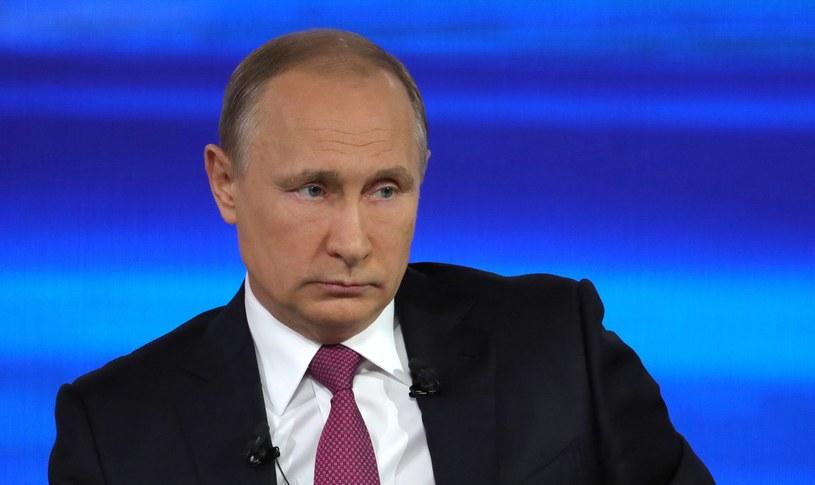 Prezydent Rosji Władimir Putin odpowiadał na pytania rodaków /MIKHAIL KLIMENTYEV /AFP