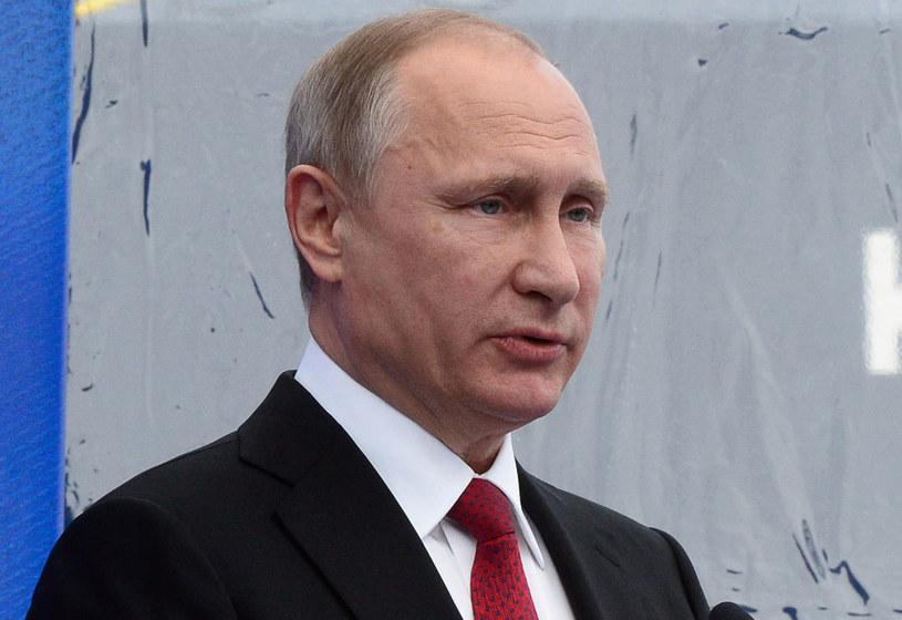 Prezydent Rosji Władimir Putin potępia zamach terrorystyczny w Londynie /Olga Maltseva /AFP