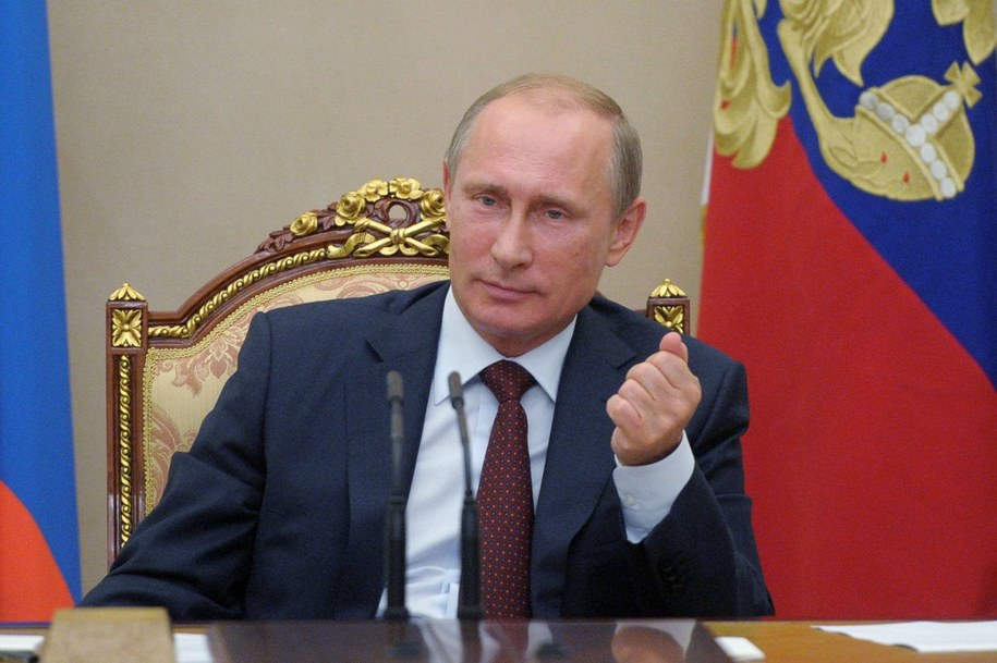 Prezydent Rosji Władimir Putin /Alexei Druzhinin /PAP/EPA