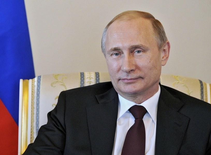 Prezydent Rosji Władimir Putin /East News