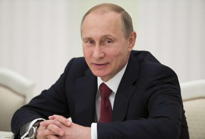 Prezydent Rosji Władimir Putin /PAVEL GOLOVKIN /East News