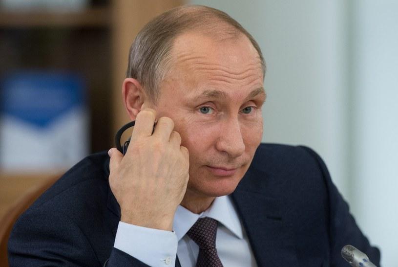 Prezydent Rosji Władimir Putin /SERGEY GUNEEV /East News
