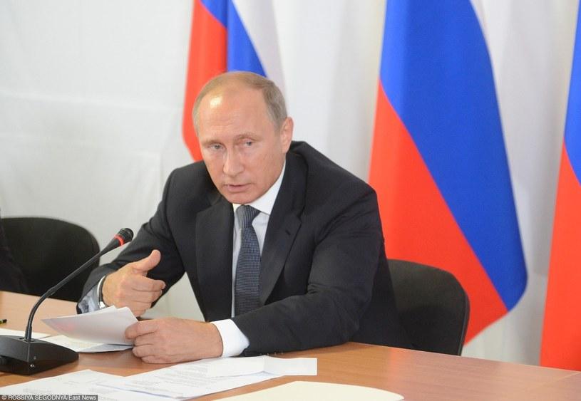 Prezydent Rosji Władimir Putin /Sergey Mamontov /East News