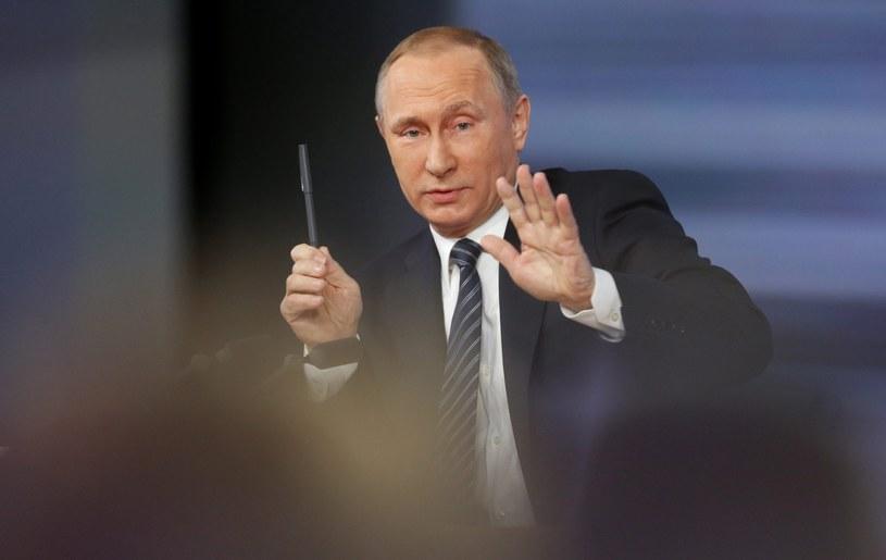 Prezydent Rosji Władimir Putin /YURI KOCHETKOV /PAP/EPA