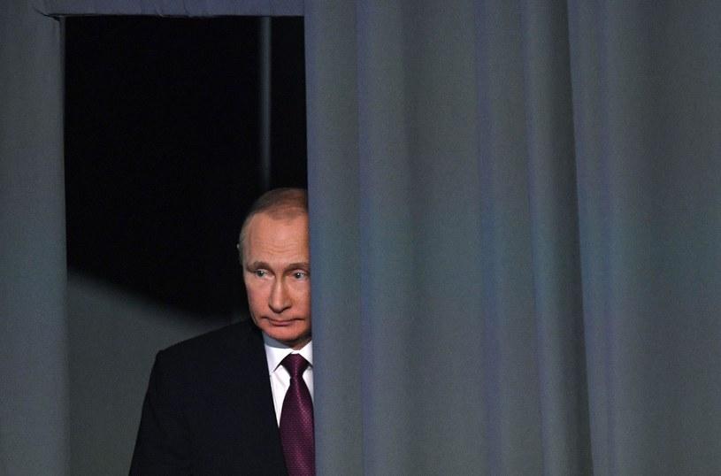 Prezydent Rosji Władimir Putin /Natalia Kolesnikova /East News