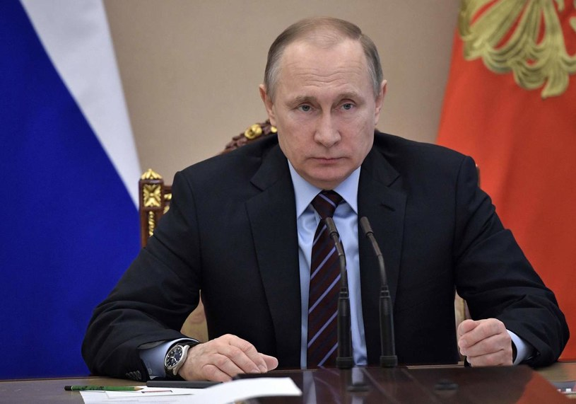 Prezydent Rosji Władimir Putin /ALEXEY NIKOLSKY /AFP