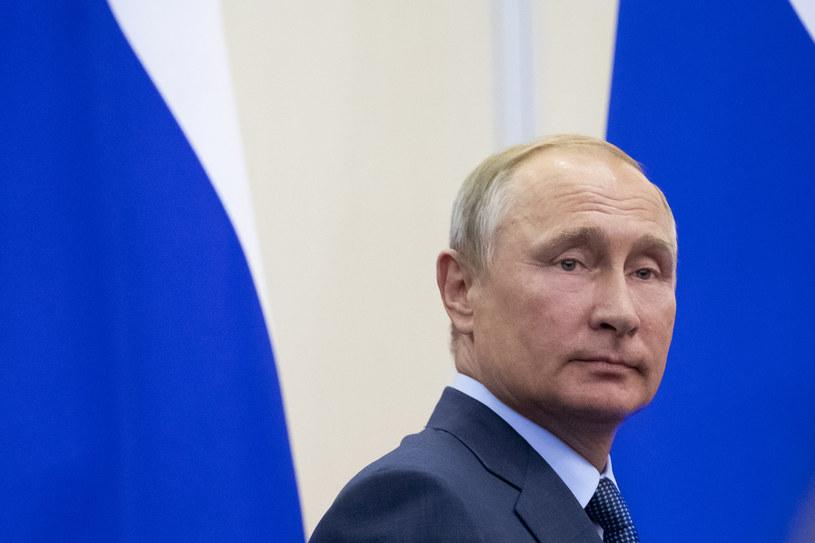 Prezydent Rosji Władimir Putin /PAVEL GOLOVKIN /AFP
