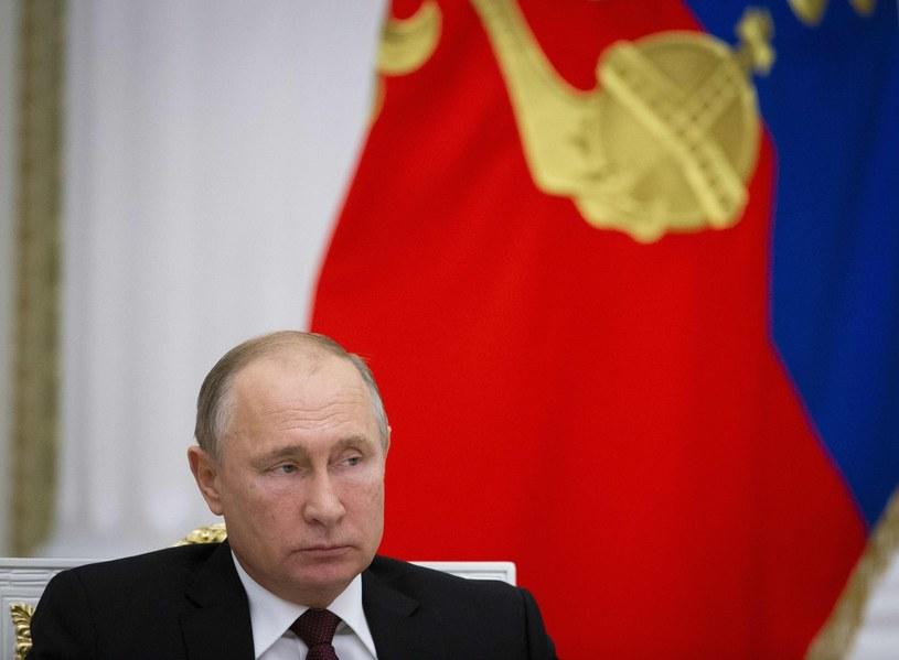 Prezydent Rosji Władimir Putin /POOL ALEXANDER ZEMLIANICHENKO /AFP