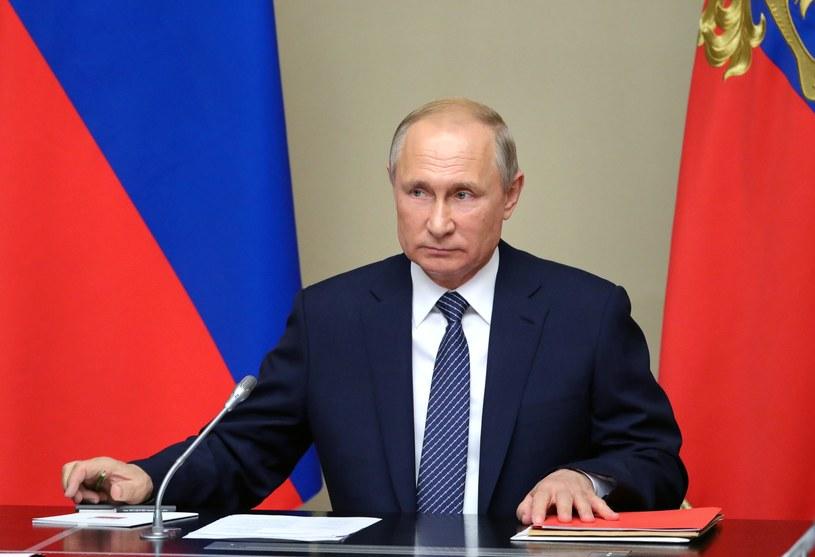 Prezydent Rosji Władimir Putin /MIKHAIL KLIMENTYEV / SPUTNIK / AFP /AFP