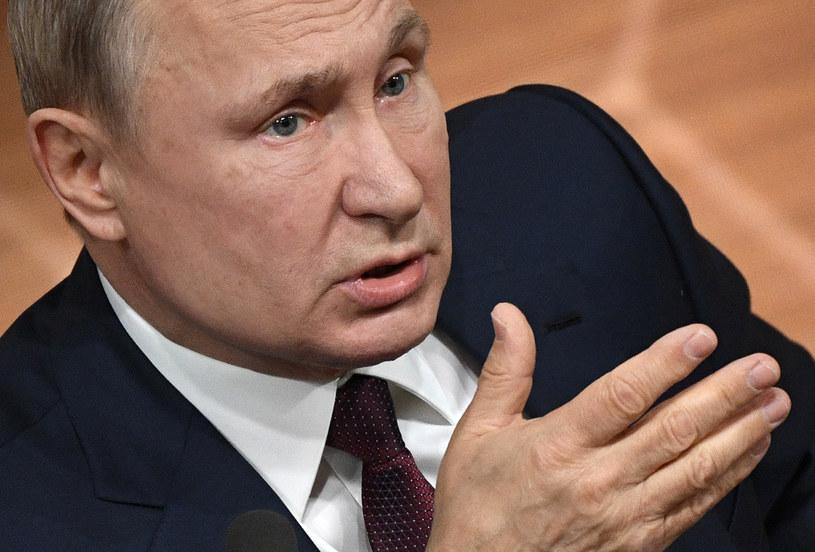 Prezydent Rosji Władimir Putin /ALEXANDER NEMENOV /AFP