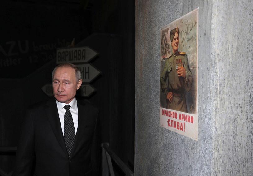 Prezydent Rosji Władimir Putin /DMITRY LOVETSKY  /East News