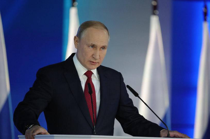Prezydent Rosji Władimir Putin /AP /East News