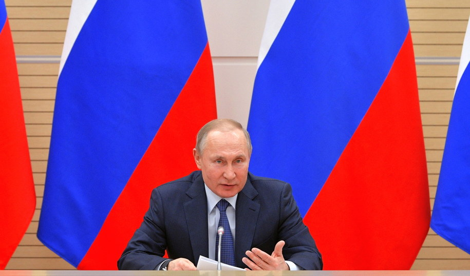 Prezydent Rosji Władimir Putin /ALEXEI DRUZHININ / SPUTNIK / KREMLIN POOL /PAP/EPA