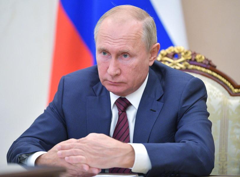Prezydent Rosji Władimir Putin /PAP/EPA/ALEXEI NIKOLSKY / SPUTNIK / KREMLIN POOL /PAP/EPA