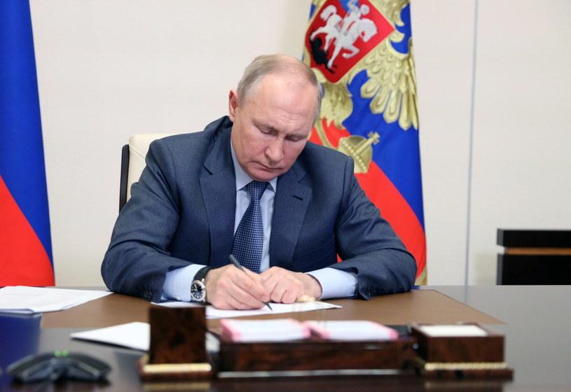 Prezydent Rosji Władimir Putin /SERGEY ILYIN / KREMLIN / SPUTNIK POOL /PAP/EPA