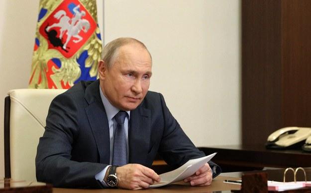 Prezydent Rosji Władimir Putin /Sergei Ilyin/Russian Presidential Press and Information Office /PAP/ITAR-TASS