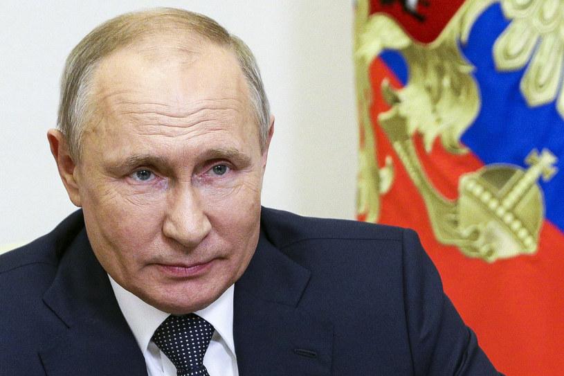 Prezydent Rosji Władimir Putin /Pool Sputnik Kremlin/Associated Press /East News