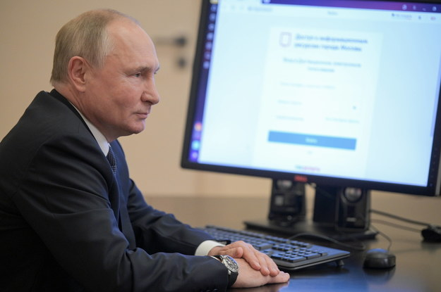 Prezydent Rosji Władimir Putin /ALEXEI DRUZHININ / KREMLIN POOL / SPUTNIK /PAP/EPA