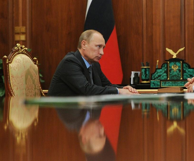 Prezydent Rosji Władymir Putin.f /EPA/MIKHAIL KLIMENTYEV/RIA NOVOSTI /PAP/EPA