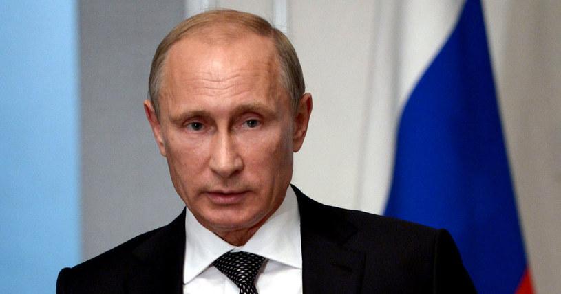 Prezydent Rosji Władymir Putin /ALEXEY NIKOLSKY/RIA NOVOSTI/KREMLIN POOL /EPA