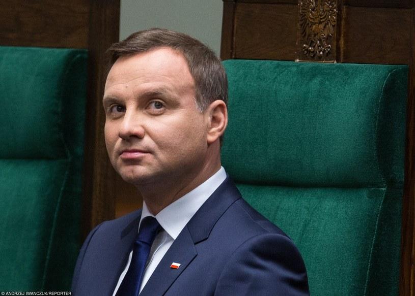 Prezydent RP Andrzej Duda /Andrzej Iwańczuk/Reporter /East News