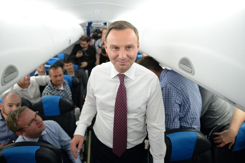 Prezydent RP Andrzej Duda /Jacek Turczyk /PAP