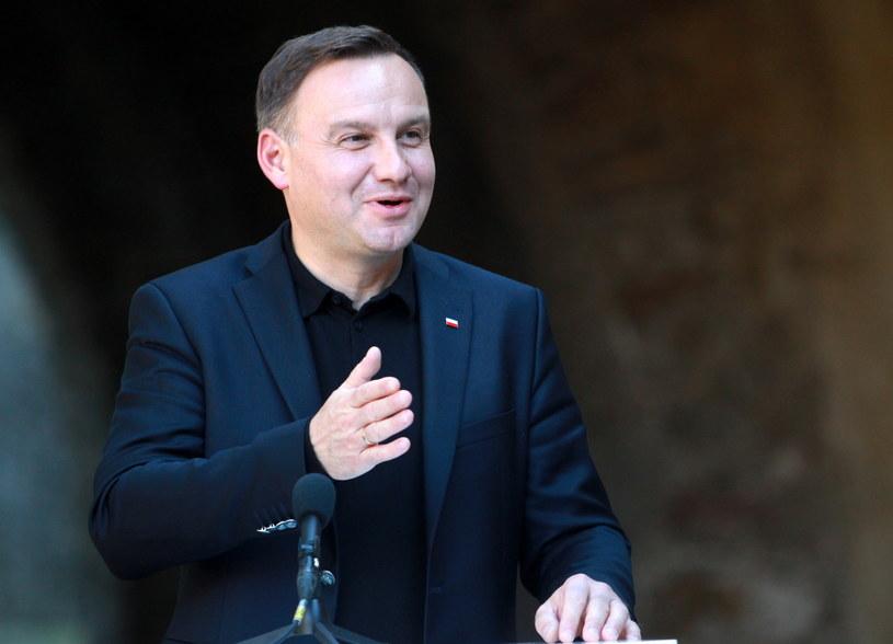 Prezydent RP Andrzej Duda /Grzegorz Momot  (PAP) /PAP