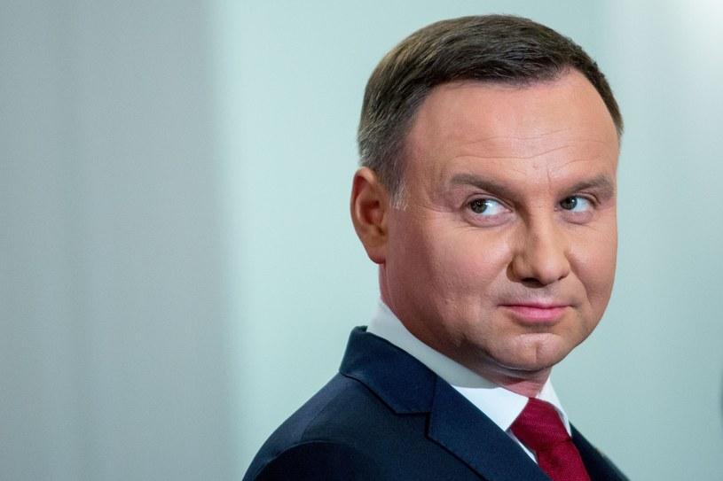 Prezydent RP Andrzej Duda /Andrzej Iwańczuk /East News