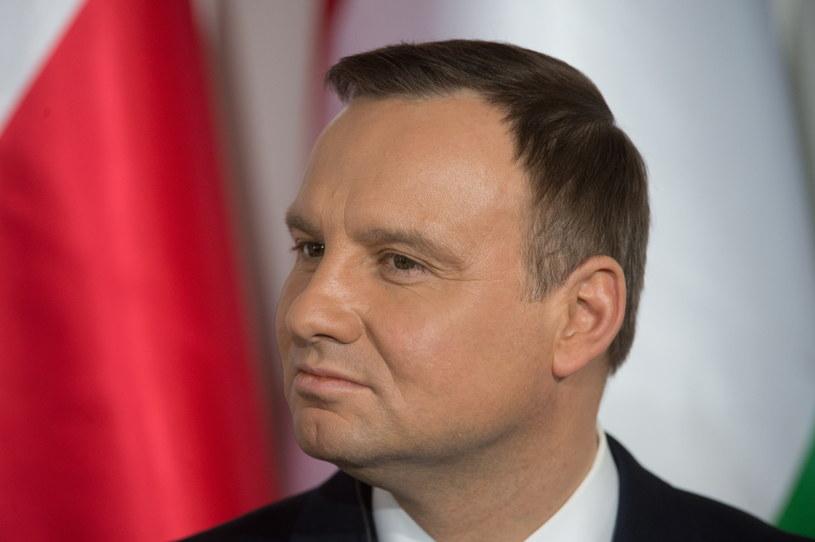 Prezydent RP Andrzej Duda /Grzegorz Michałowski /PAP