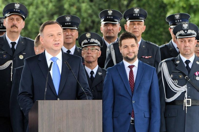Prezydent RP Andrzej Duda. /Radek Pietruszka /PAP
