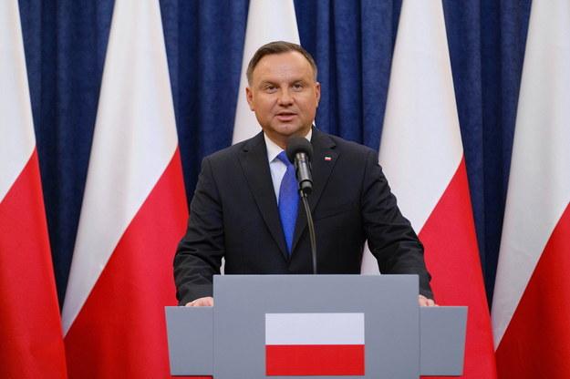 Prezydent RP Andrzej Duda /Mateusz Marek /PAP