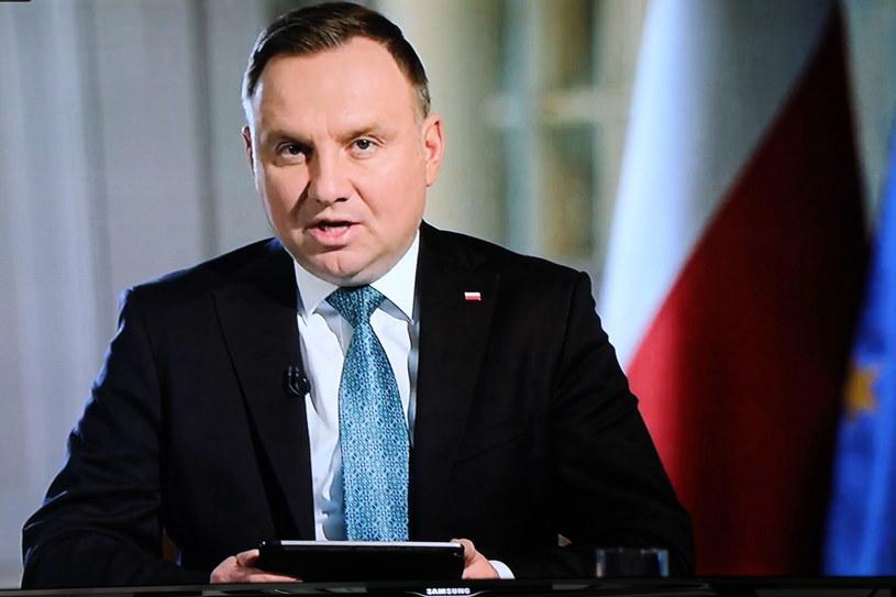 Prezydent RP Andrzej Duda /Wojciech Olkuśnik /PAP